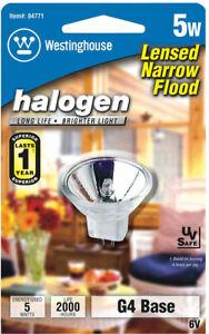 Westinghouse  5 watts MR11  Halogen Bulb  27 lumens White  Floodlight  1 pk