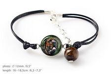 Fila Brasileiro. Bracelet for people who love dogs. Photojewelry. Handmade. Usa