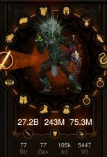 DIABLO 3 PS4 Primal Ancient Modded (Witch Doctor) Set.