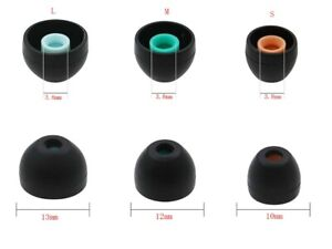 Sony Headphone Replacement Earbuds Tips Ear In-ear Earphone Silicone (Set of 6)