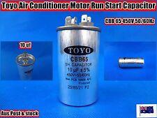 Toyo Air Conditioner Motor Run Start Capacitor CBB65 2+4 Pin 10uF 50/60Hz (G13)
