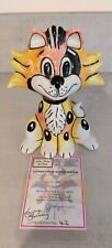 Lorna Bailey Allsorts The Cat Limited Edition 42/75 Signed in blue