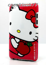 for iPod touch 4th 4 th 4g itouch  back case hot pink red white