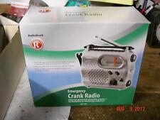 Emergency Crank Radio From Radio Shack Non Electric