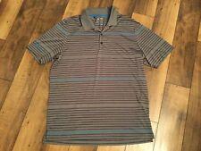 Men's Adidas Climacool ShortSleeve Shirt.Gray/Turquoise/Larg e