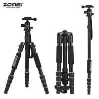 ZOMEI Q555 Tripod Compact Travel for Nikon Canon Sony DSLR Digital SLR Camera