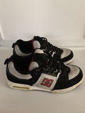 DC Sports Shoes - US Mens 9.5 Black White Red Skate Skateboarding Skateboard JKG