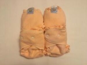 Pack of 4 Loveybums Peach Sherpa diapers