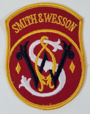 Smith and Wesson Embroidered Patch Guns Firearms