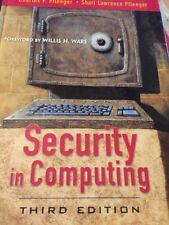 Security in Computing (3rd Edition), Pfleeger, Shari Lawrence, Pfleeger, Charles