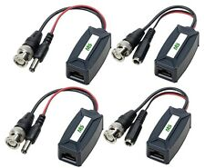 Video and Power Balun / Transceiver for Analog HD CCTV TVI/CVI/AHD