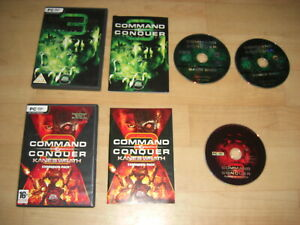 COMMAND & CONQUER 3 Tiberium Wars Kane Edition + Kane's Wrath Add-On Pc C&C