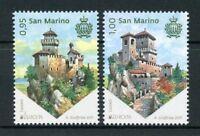 San Marino 2017 MNH Castles Castle Europa 2v Set Architecture Stamps