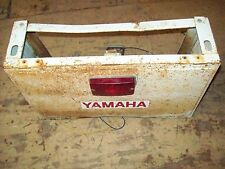 Vintage Yamaha Snowmobile Tool Box/Rear Trunk 1971 SW 396 SW 433 Wide Track