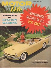 Motor Life March 1957 Station Wagons, Austin-Healy 052517nonDBE