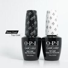 OPI GelColor Nail Gel Nail Polish Base & Top 0.5oz each Duo Pack