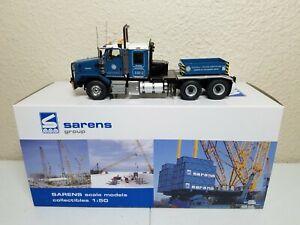 Kenworth C500B Truck with Ballast Box - Sarens - WSI 1:50 Scale #20-1013 New!