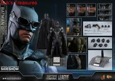 Hot Toys Justice League Batman Tactical Batsuit 1/6 Figure MMS432 SEALED SHIPPER