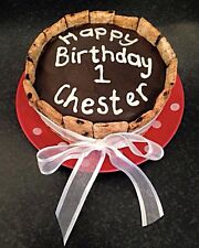 🐶The Cornish Barkery Natural Dog Personalised Celebration Gift Birthday Cake 5""