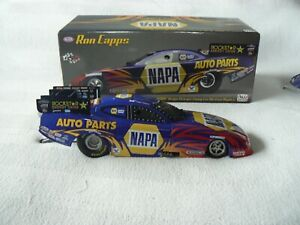 RON CAPPS 2008 1/24 NAPA (DSR) DODGE CHARGER FUNNY CAR (AUTOGRAPHED)