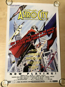 1998 Astro City Promo Poster - Now Playing! 24x36 Alex Ross Art - Homage Comics