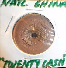 "CIRCULATED ""TWENTY CASH"" COPPER REPUBLIC OF CHINA COIN! (80515)"