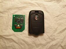 GENUINE ALFA ROMEO 159,BRERA,939 SPIDER 3 BUTTON LOCKING ALARM KEY FOB SPARES