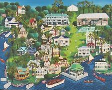 Reproduction of Edith Lunt Small Painting of Thousand Island Park Now Available!