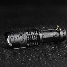 5000LM UltraFire Mini 7w ZOOM T6 Led Flashlight Torch Adjustable Focus Zoom Lamp