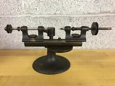 Vintage Jewelers Watchmakers Tool Lathe Marked Jewel