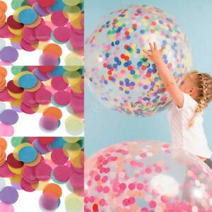1000x Wedding Party Decor Scatters Flame Retardant Paper Table Confetti 25mm