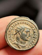 Galère,néo-aurelianus,Antioche 295-299 (CONCORDIA MI-LITVM /CROISSANT ANT) 3,12g
