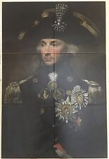 Admiral Nelson: Portrait of Admiral Lord Horatio Nelson Ceramic Tiles