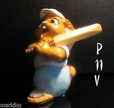 Pendelfin Batty , cricket player figurine rabbit Bunny w/ Box