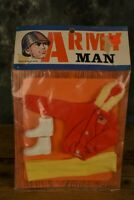 Vintage ARMY MAN OUTFIT 70er years Hong Kong W/ FREE SHIPPING