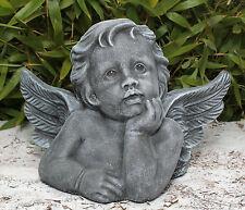 sculpture en pierre Ange Putt Décoration Funéraire Statue d'ornement de jardin