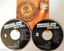 TIME LIFE Singers and Songwriters 1972-1973 - Various Artists (2 CD) VG++ 9/10