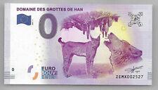 Belgium Billet 0 euro Domaine des Grottes de Han Euro souvenir 2017-1