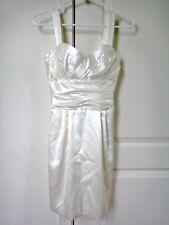 NWT $2000 DOLCE & GABBANA Silk Bustier Dress Ruched Bodice 36 IT 2 XS Sleeveless