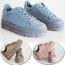 New Womens Lace Up Trainers Ladies Sneakers Plimsoll Running Shoes Size Uk 3-8