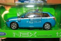 AUDI - A 3 SPORTBACK - POLIZIA - 2004 - WELLY - SCALA 1/24