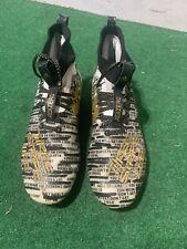 Adidas Adizero 8.0 Football Cleats Three Stripe Life Black D96811 Size 8