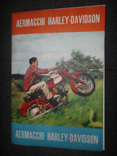 Prospekt Sales Brochure Aermacchi Harley Davidson Ala Azzurra Chimeru Motorrad