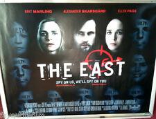 Cinema Poster: EAST, THE 2013 (Quad) Brit Marling Alexander Skarsgård Ellen Page