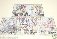 Puella Magi Madoka Magica Movie The Rebellion Promo Mini Autograph Board