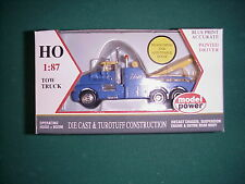 Model Power  HO 1/87  #30001 blue Mom's  tow truck