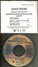 Jackie Brown Sampler w/ Bobby Womack Samuel Jackson Brothers Johnson Promo Cd Dj