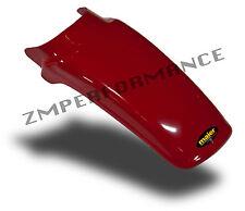 NEW HONDA XR80 79 - 82 RED PLASTIC REAR MOTORCYCLE FENDER XR 80 MUD GUARD