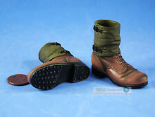 1:6 ACTION FIGURE WW2 GERMAN INFANTRY LAH PANZERGRENADIER ARMY Boots Shoes FH_1D