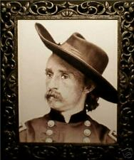 """Haunted Spooky General Custer Photo """"Eyes Follow You"""""""